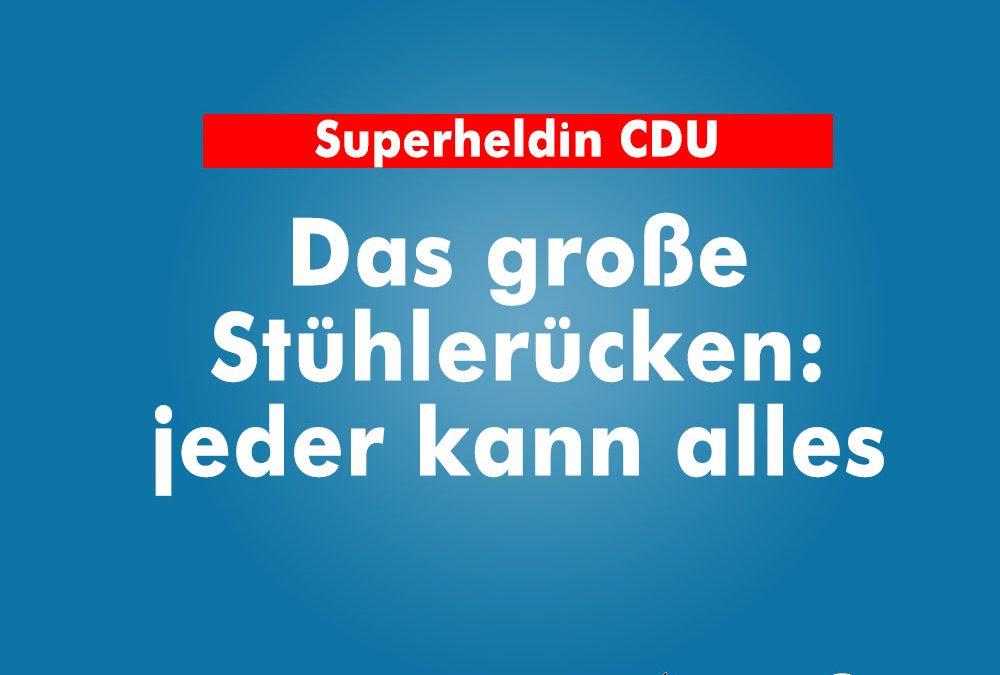 Superheldin CDU – ein Kommentar