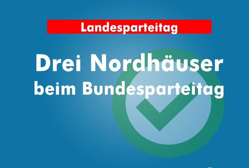 Drei Nordhäuser als Delegierte für Bundesparteitag bestimmt