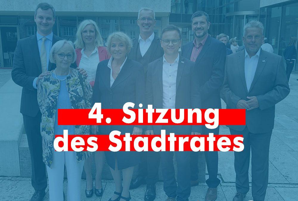 """""""Stadtratssplitter"""" – 4. Sitzung"""