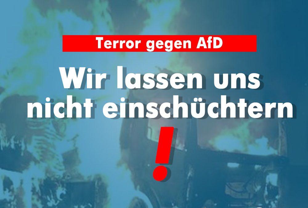 Brandanschlag auf AfD