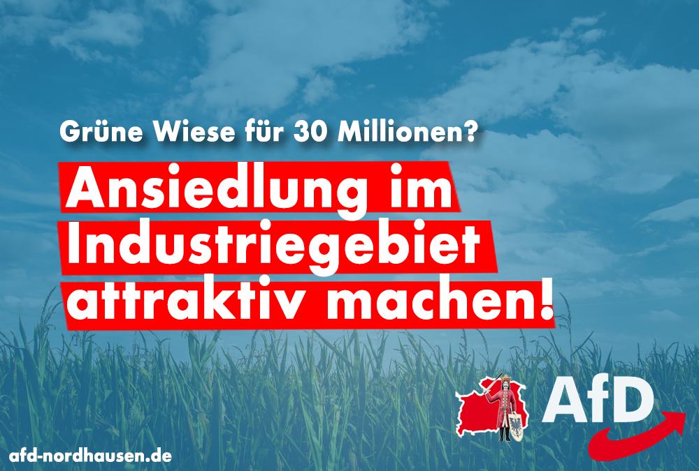 """Sondersteuersatz für Industriegebiet """"Goldene Aue"""""""