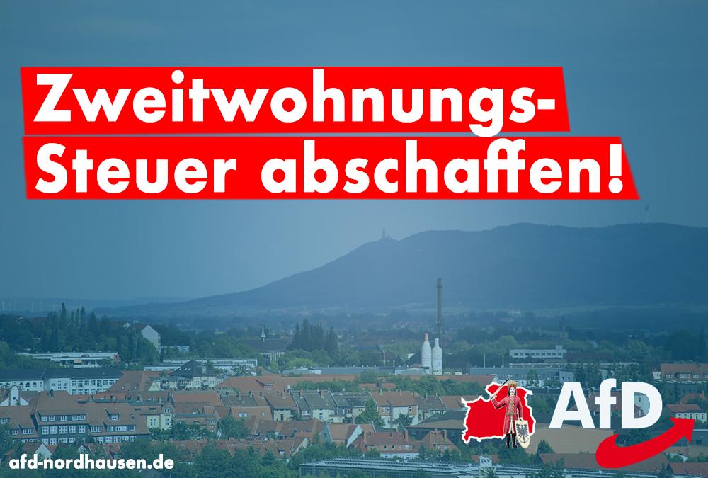 Nordhausen als Hochschulstandort stärken – Zweitwohnungssteuer abschaffen