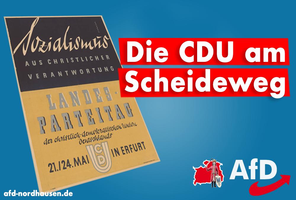 Die CDU am Scheideweg – Angst vor der eigenen Courage?