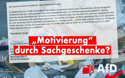 Müllproblem in Nordhausen