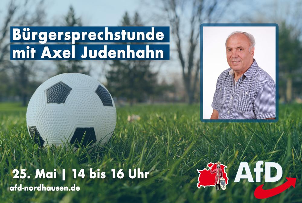 Bürgersprechstunde mit Axel Judenhahn