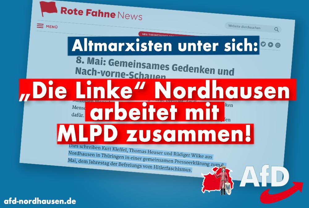 """""""Die Linke"""" Nordhausen arbeitet mit MLPD zusammen!"""