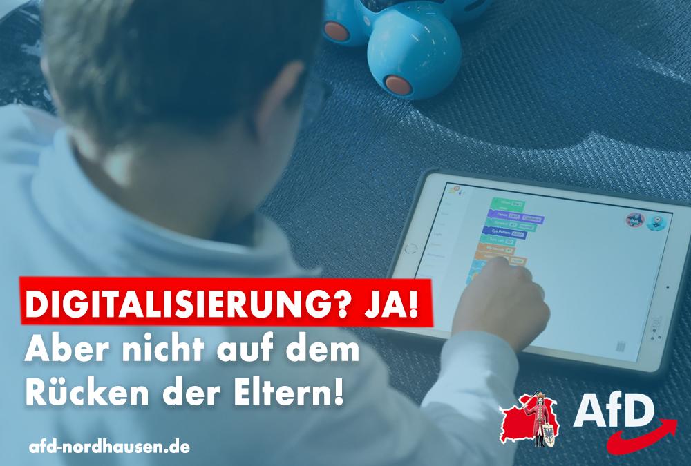 Ein iPad allein unterrichtet unsere Kinder nicht – Digitalisierung nicht auf dem Rücken der Eltern!