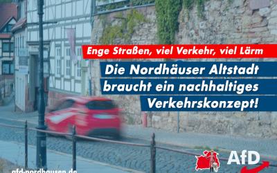 Verkehrskonzept für die Nordhäuser Altstadt