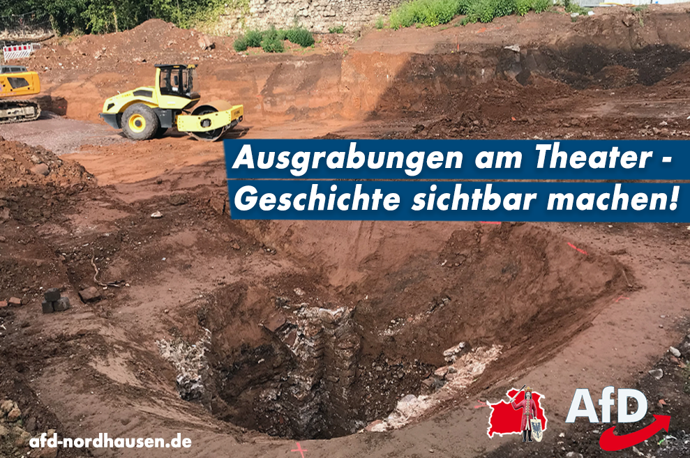 Ausgrabungen am Theater – Geschichte sichtbar machen!