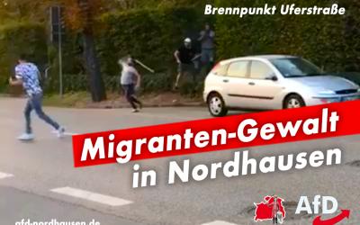 Migranten-Gewalt in Nordhausen