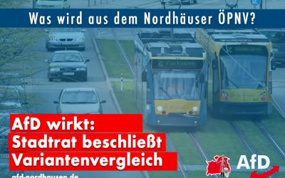 Stadtrat beschließt Variantenvergleich bei Abgabe von Bus und Straßenbahn an den Landkreis