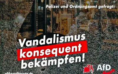 Wieder Vandalismus: Deckmantel für fehlendes Verantwortungsbewusstsein