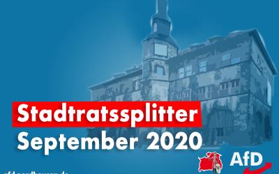 Stadtratssplitter September 2020