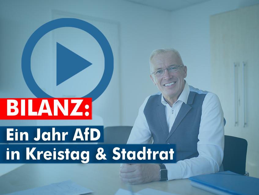 Video: Ein Jahr AfD in Kreistag & Stadtrat Nordhausen