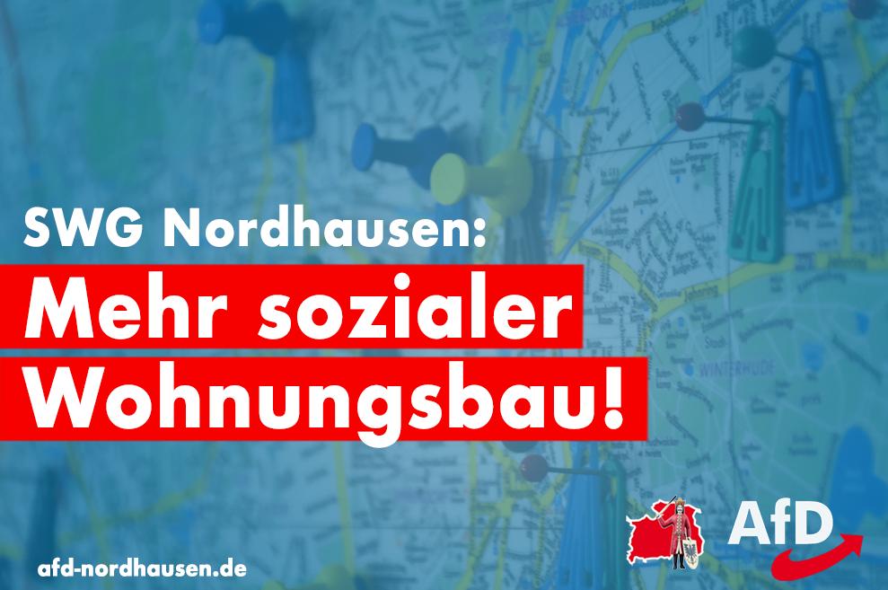 Mehr Investitionen für den sozialen Wohnungsbau und Ideenprozess für Nordhausen-Salza