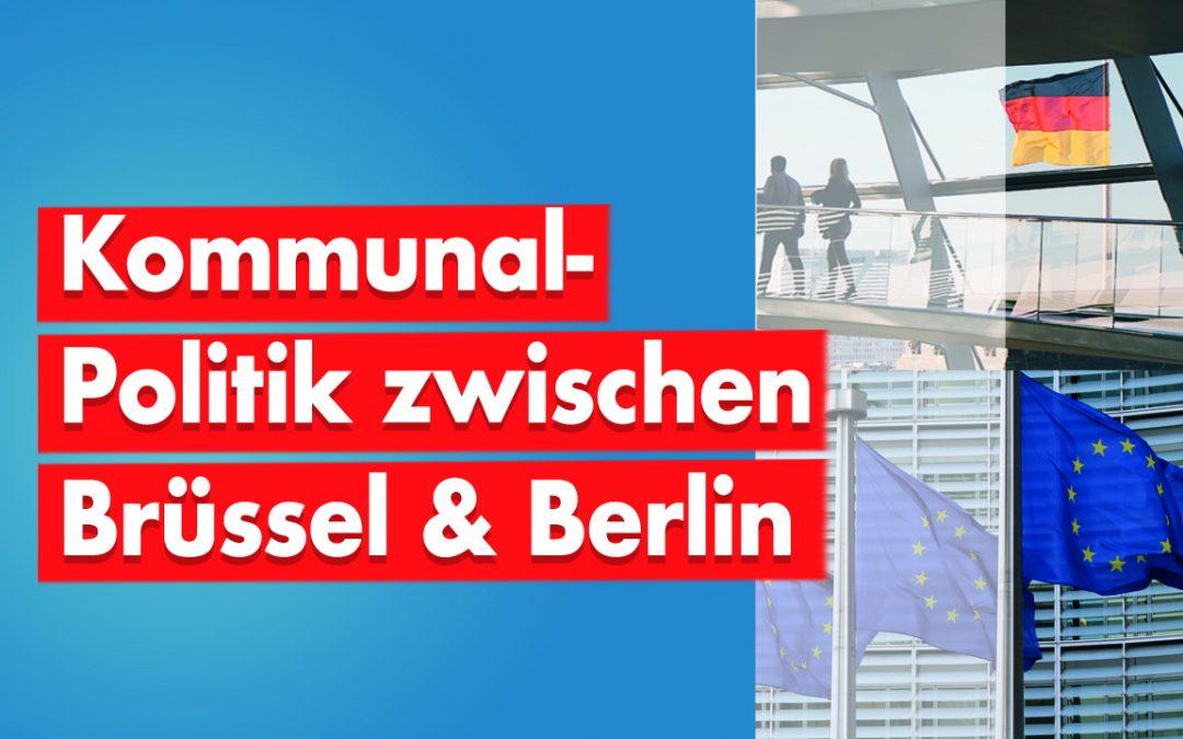 Video: Kommunalpolitik zwischen Brüssel und Berlin