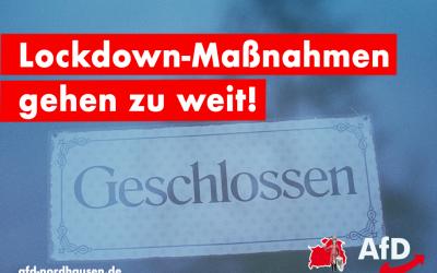 AfD entschieden gegen weiteren Lockdown