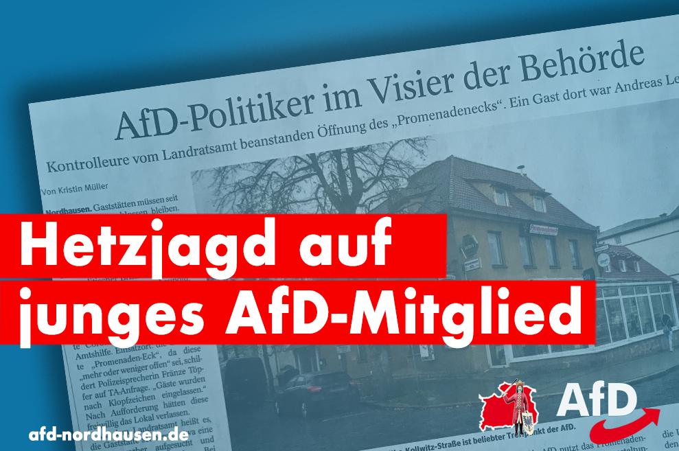 Zufälle gibt es – oder nicht? Thüringer Allgemeine im Wahlkampfmodus für Landrat Jendricke