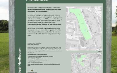 Info-Tafeln für Nordhäuser Parks