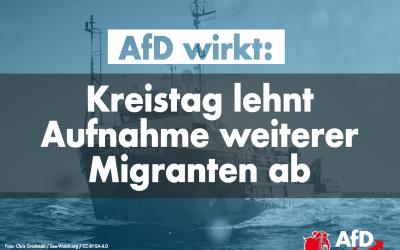 AfD wirkt: Kreistag Nordhausen lehnt Aufnahme weiterer Migranten ab