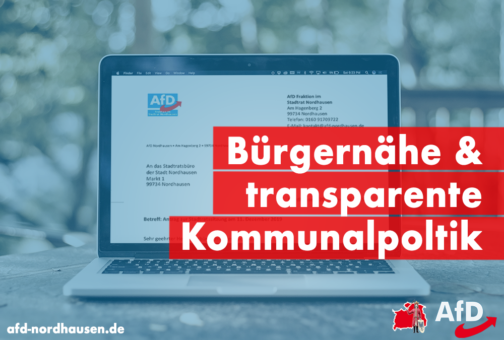 Bürgernähe & transparente Kommunalpolitik