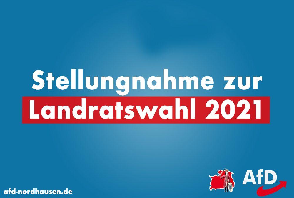 AfD zur Landratswahl Nordhausen 2021