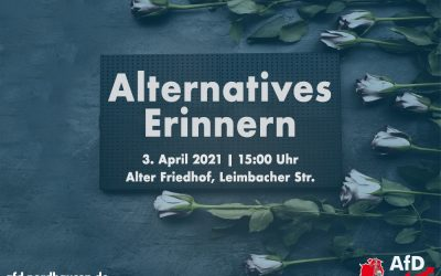 Alternatives Erinnern am 3. April