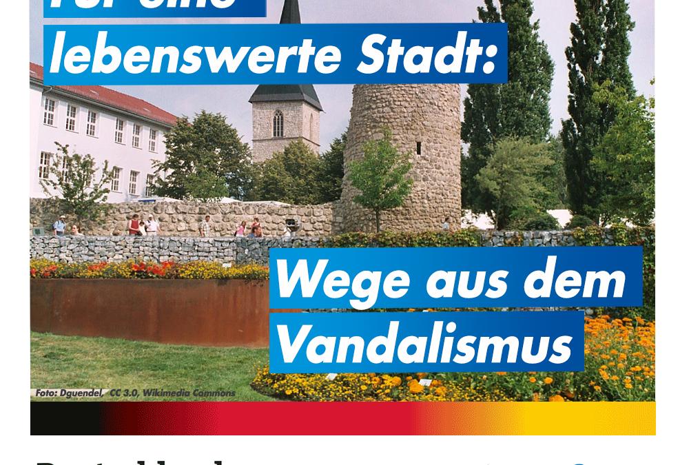 Wege aus dem Vandalismus