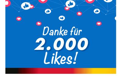 2.000 Likes bei Facebook