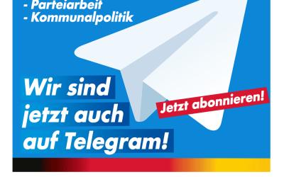 Infokanal auf Telegram