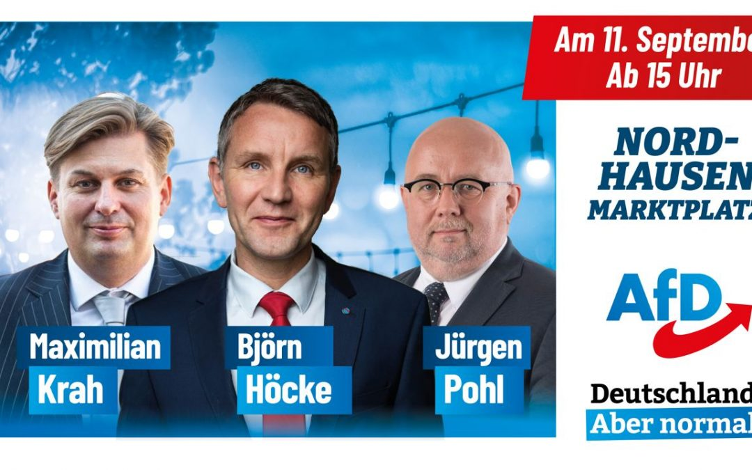 AfD-Familienfest in Nordhausen